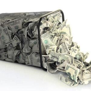 5 przykładów złych nawyków finansowych