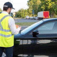 Nieopłacony mandat za parkowanie
